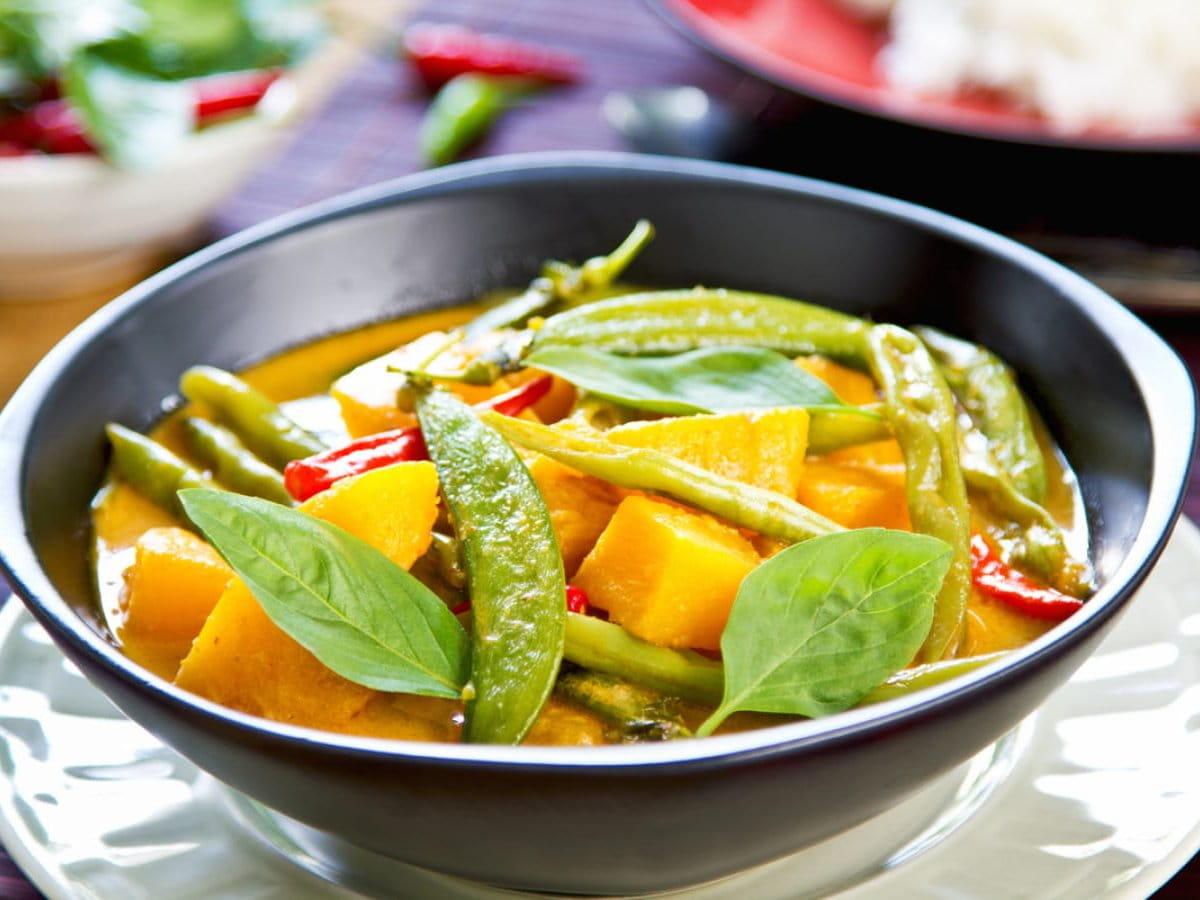Vegan Curry - Lotus Seed Vegan Restaurant